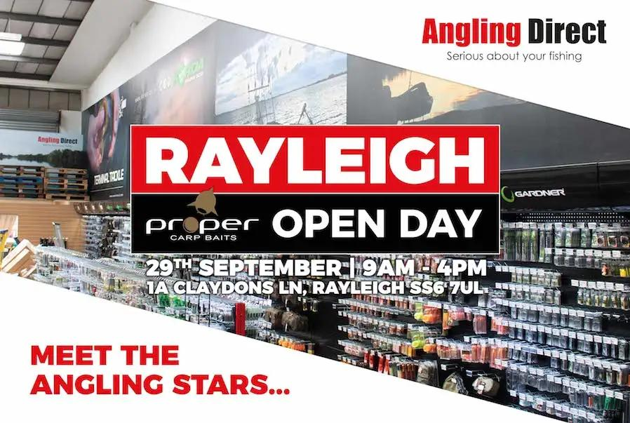 Angling Direct Rayleigh- Proper Carp Baits Open Day - Saturday 29th September 2018