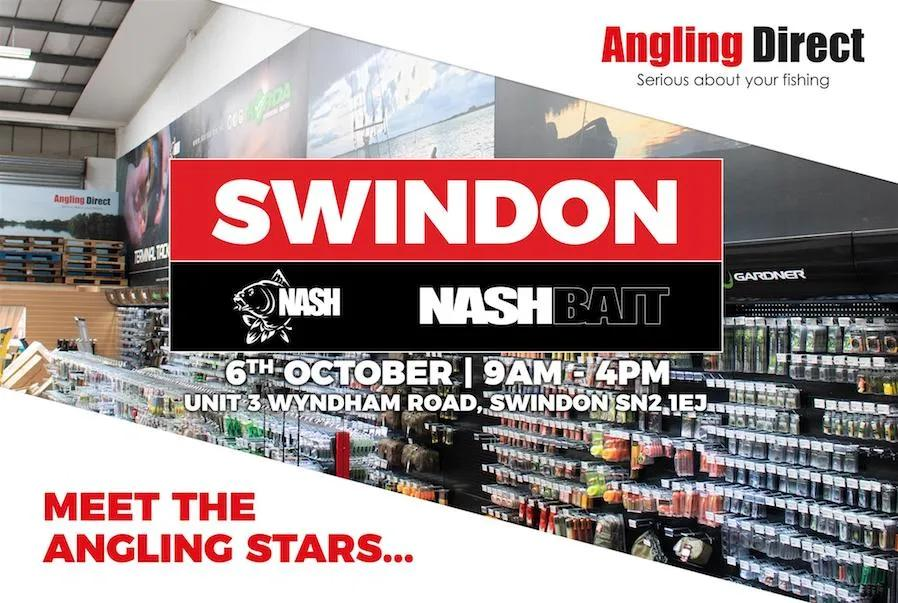 Angling Direct Swindon Nash Open Day - Saturday 6th October 2018