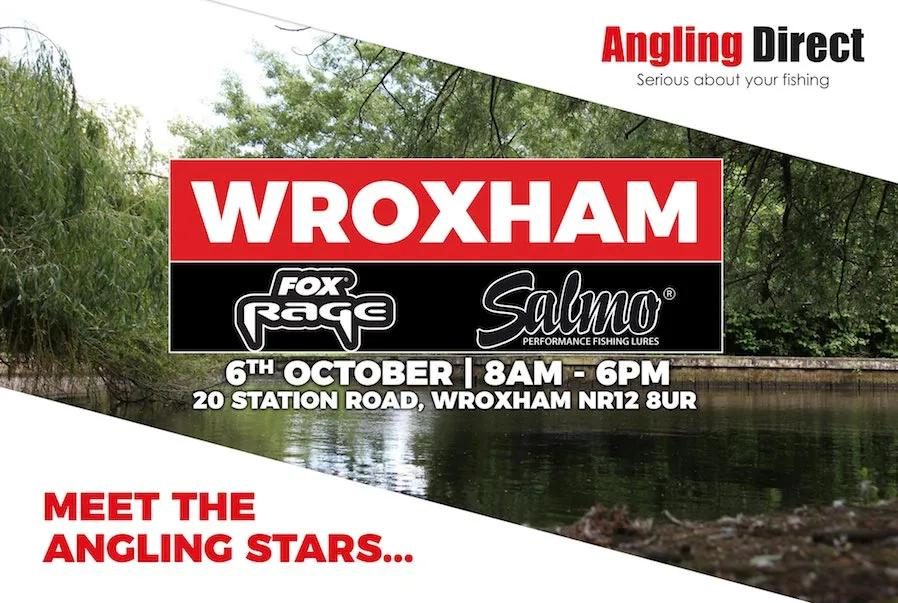 Angling Direct Wroxham Fox Rage & Salmo Open Day - Saturday 6th October 2018