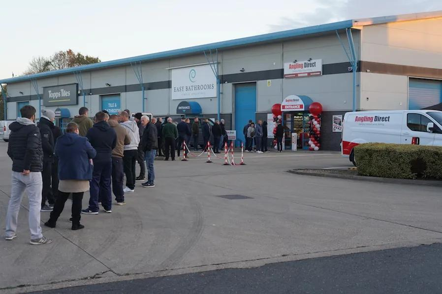 Angling Direct Peterborough Grand Opening