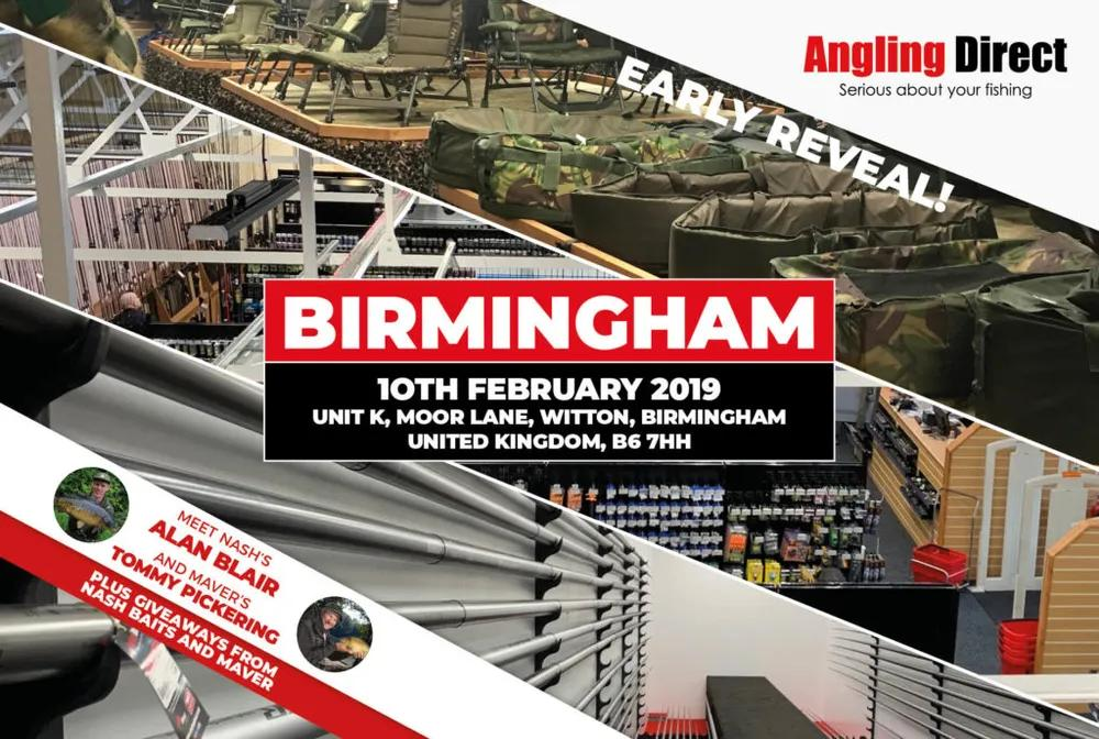 Angling Direct Birmingham- Early Reveal