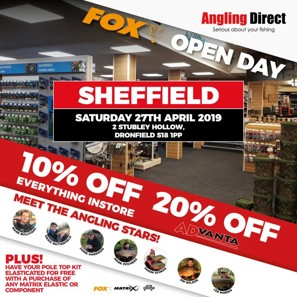Angling Direct Sheffield Fox Open Day