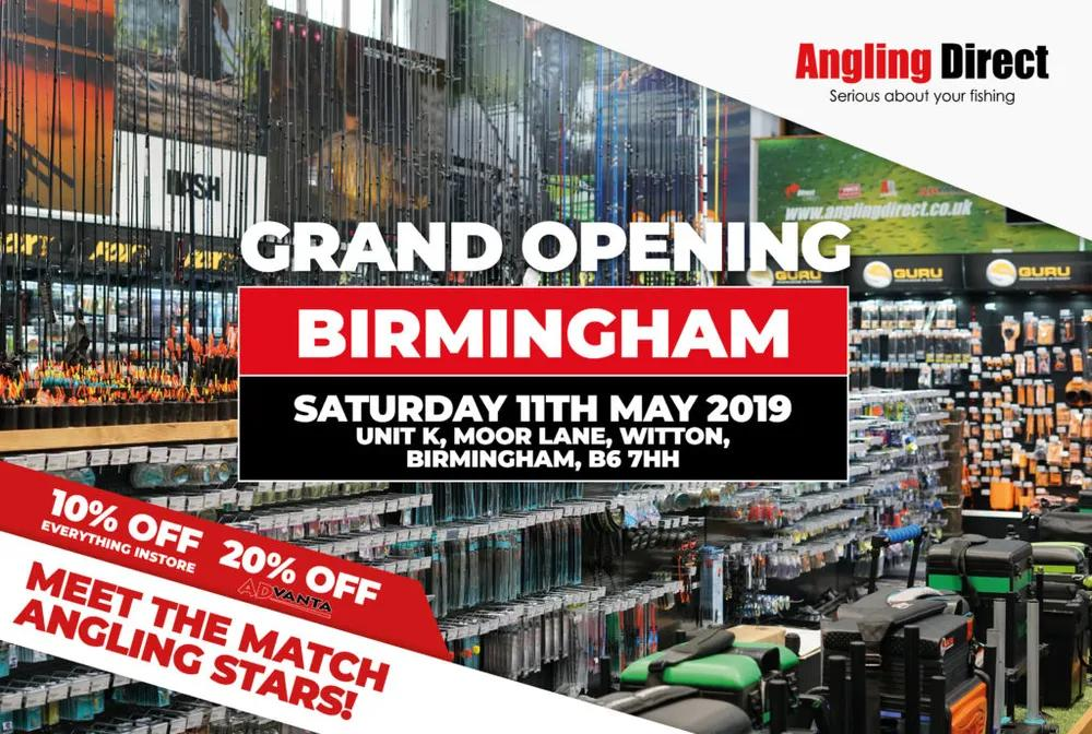Angling Direct Birmingham- Match Fishing Grand Opening