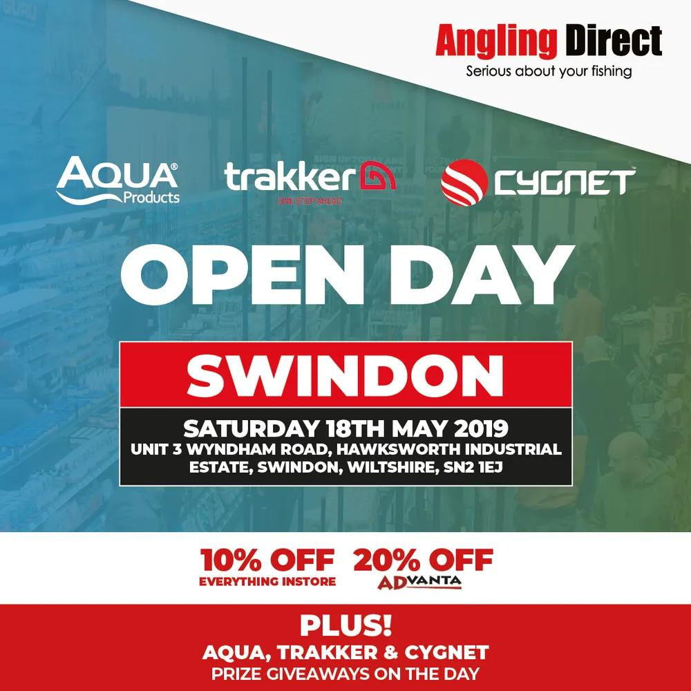 Angling Direct Swindon Cipher Open Day