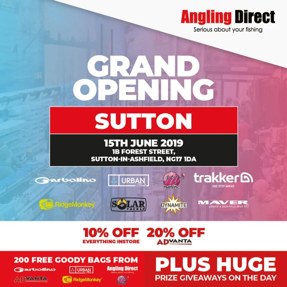 Angling Direct Sutton Grand Opening