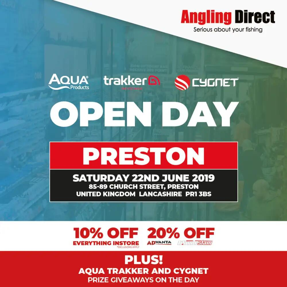 Angling Direct Preston Open Day