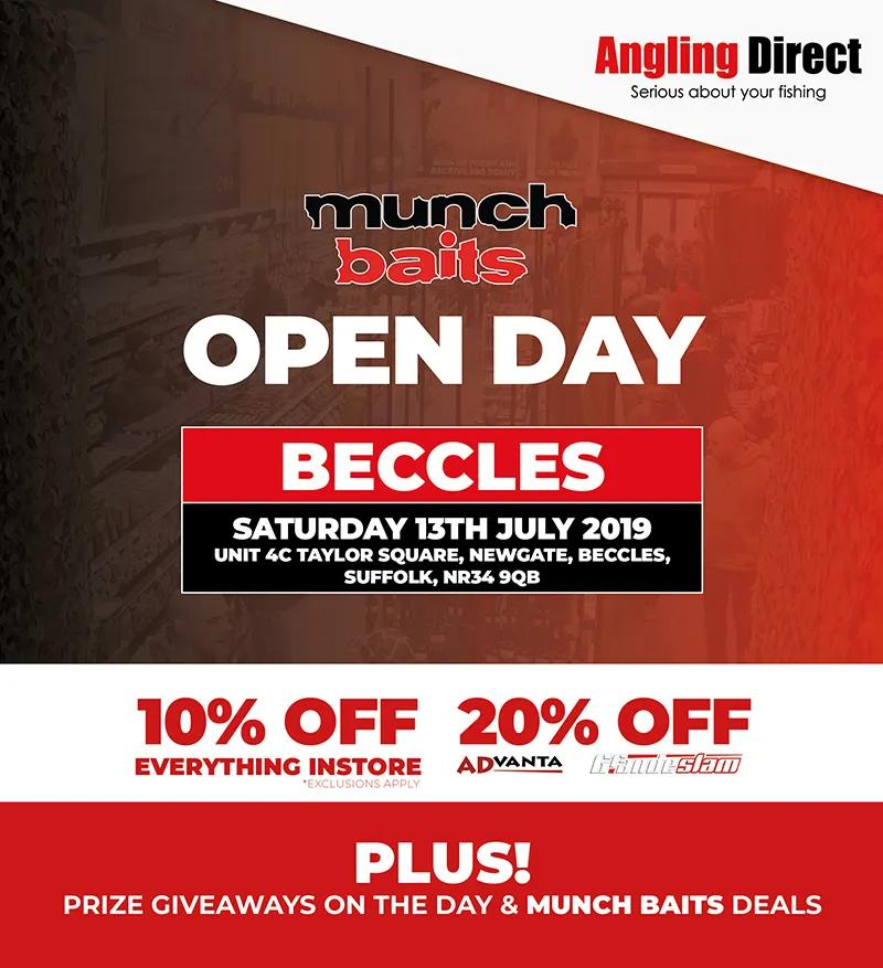 Angling Direct Beccles Munch Baits Open Day