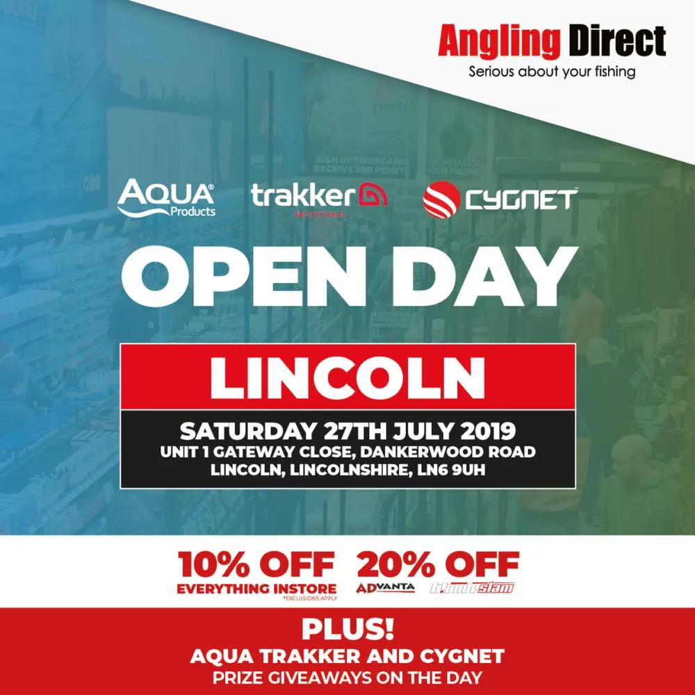Angling Direct Lincoln- Cipher Open Day