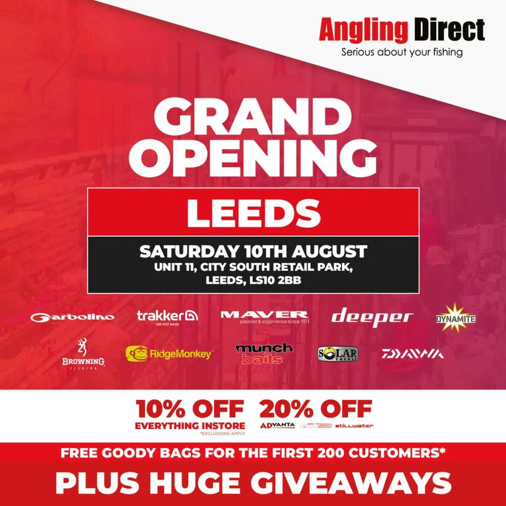 Angling Direct Leeds Grand Opening