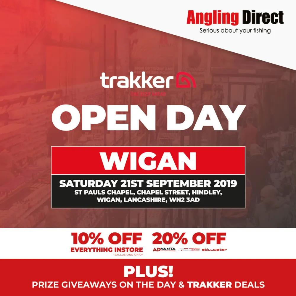 Angling Direct Wigan Trakker Open Day