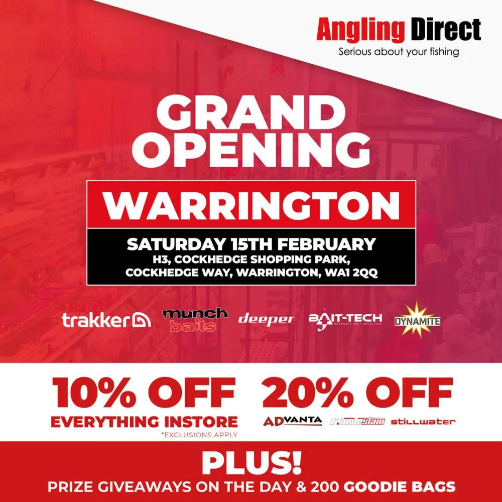 AD Warrington- Coming Soon