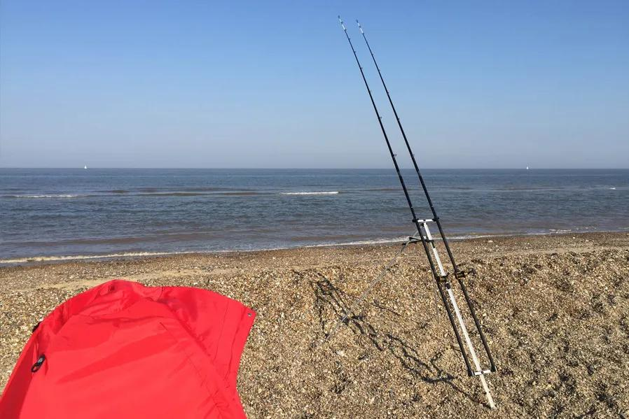 Sea Fishing From The Beach - Spring