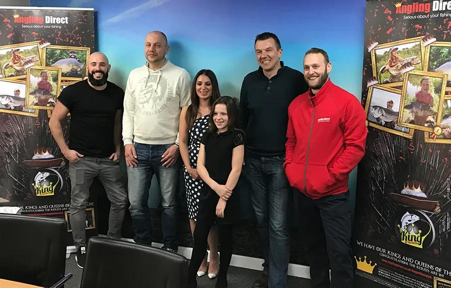 King of the Catch Crowned at Angling Direct HQ