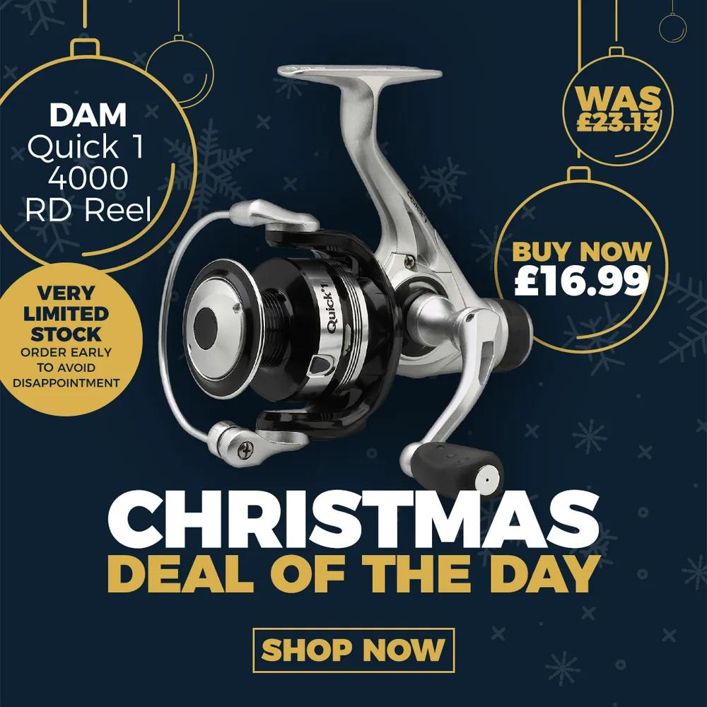 DAM Quick 1 RD Reel - Christmas Deal of the Day