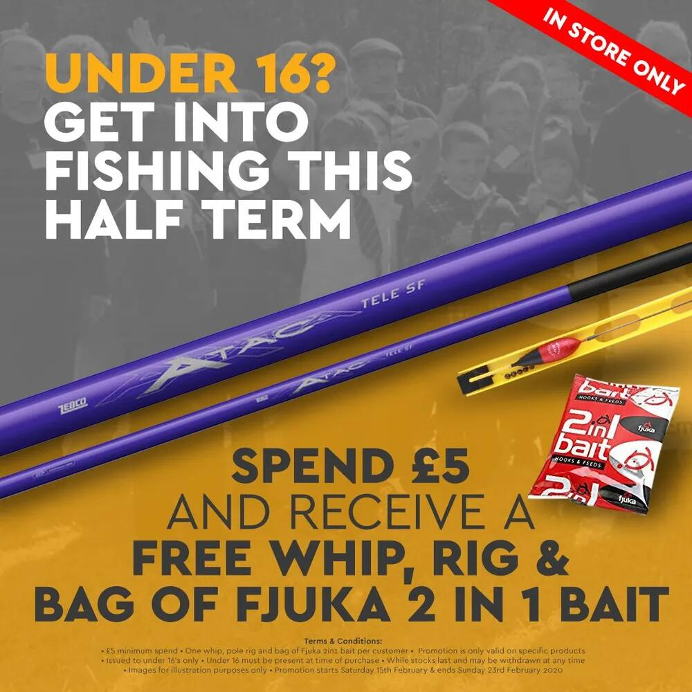 Get Into Fishing - FREE Whip Kit Offer