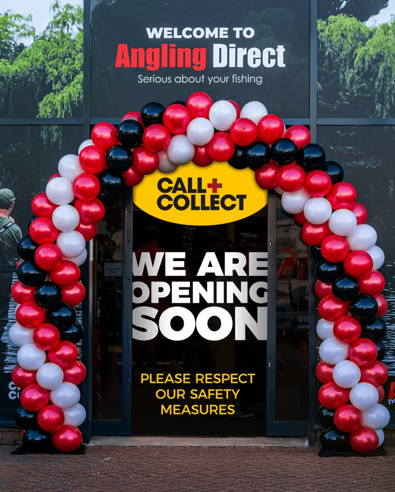 All Angling Direct Stores Are Open - April 12th 2021