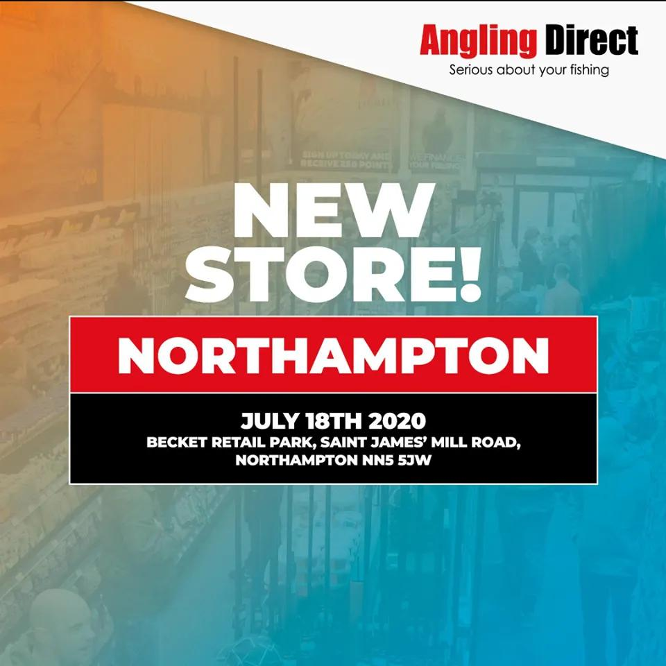 Northampton - Angling Direct Store Now Open Near You