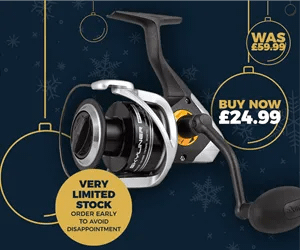 Okuma Jaw Bait Casting Reel - Christmas Deal of the Day