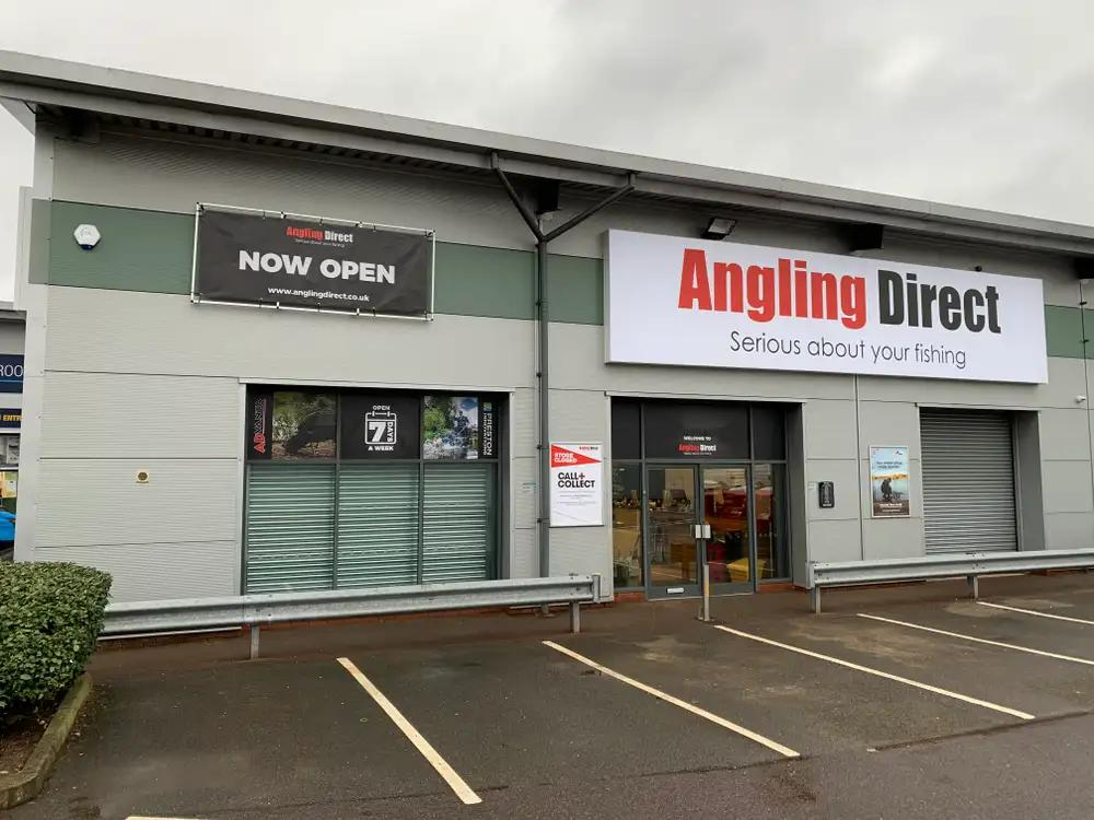 We are Now Open - Angling Direct Redditch Store