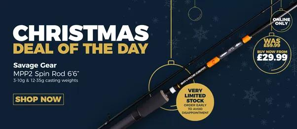 Savage Gear MPP2 Spin Rod - Christmas Deal of the Day