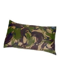 Aqua Camo Pillow Cover