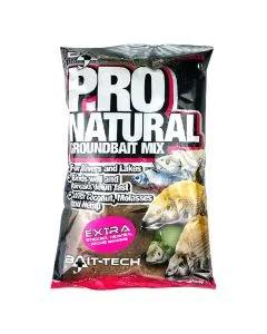 Bait-Tech Pro Natural Extra Groundbait 1.5kg