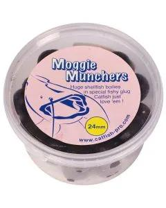 Catfish Pro Moggie Munchers 24mm Glugged Boilies