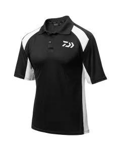 Daiwa Black & White Polo Shirt