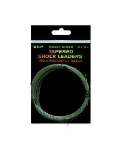 ESP Tapered Shock Leaders, Colour: Clear
