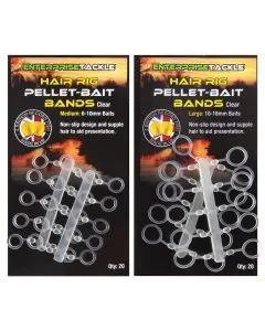 Enterprise Tackle Hair Pellet Bait Band Clear