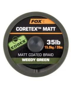 Fox Edges Coretex Matt Coated Braid