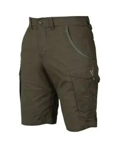 Fox Collection Green & Silver Combat Shorts