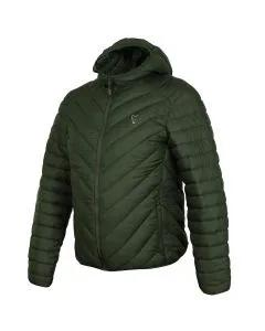 Fox Collection Green Silver Quilted Jacket