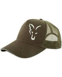 Fox Green & Silver Trucker Cap