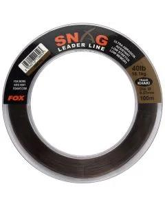 Fox Snag Leader Line Trans Khaki