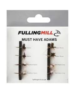 Fulling Mill Must Have Adams 8 Flies 1