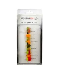 Fulling Mill Must Have Blobs 10 Flies