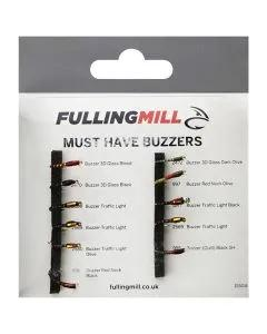 Fulling Mill Must Have Buzzers 11 Flies 1