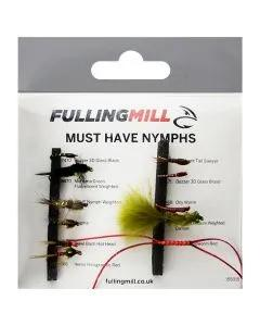 Fulling Mill Must Have Nymphs 11 Flies 1