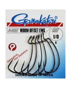 Gamakatsu Worm Hook Offset EWG