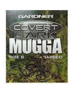Gardner Covert Dark Mugga Hooks Barbed