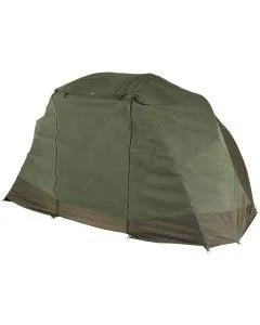JRC Defender Brolly Multi-Fit Mozzi Front Angled View