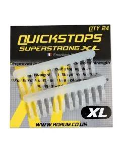 Korum Xl Quickstops, Model: Clear