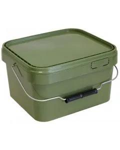Lemco 10L Square Green Bucket With Internal Tray
