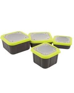 Matrix Solid Top Bait Boxes Grey/Lime