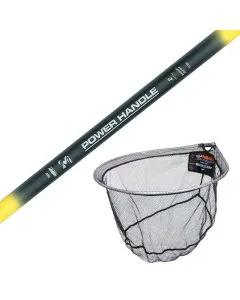 Middy Landing Net & Handle Coarse Combo