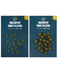 Nash Soft Taper Bore Beads