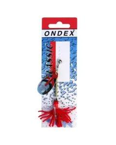 Ondex Silver Decorated Spinner