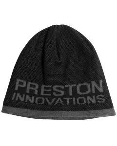 Preston Black & Grey Beanie Hat
