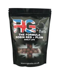 The Formula Red + N-I Plum Shelf Life Boilies